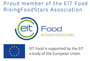 Proud member of the EIT Food RisingFoodStars Association