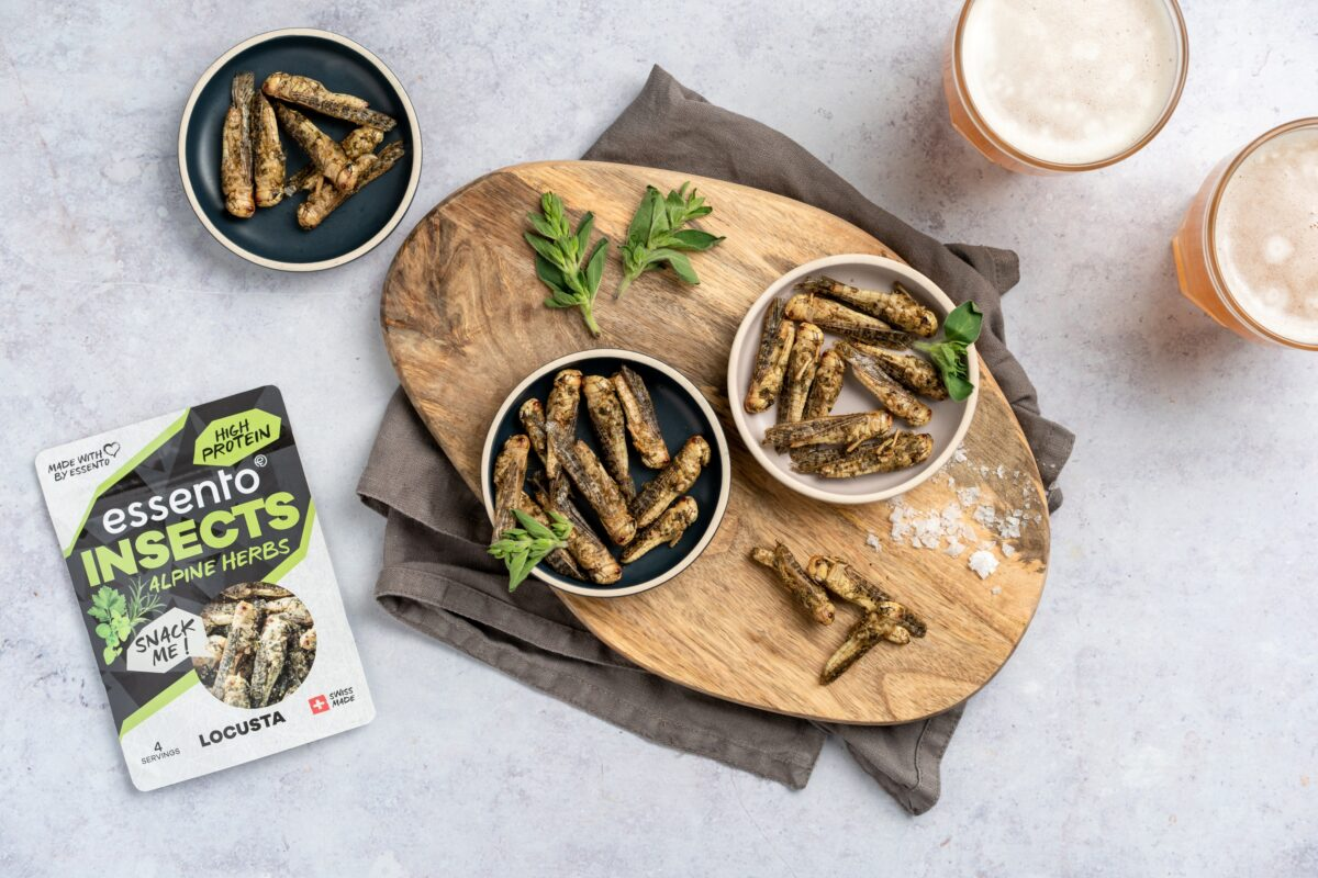 Essento Insect Snacks Alpine Herbs