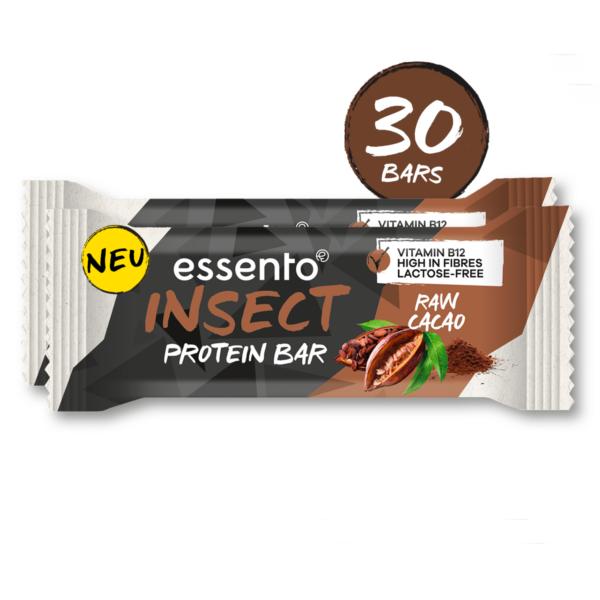Insekten Protein Bar Raw Cacao