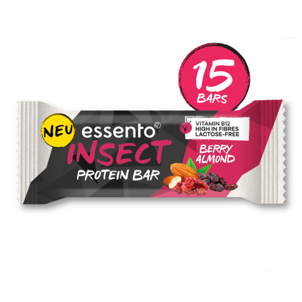 Insect Protein Bar Berry Almond