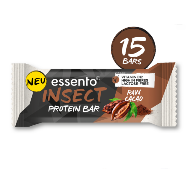Insect Protein Bar Raw Cacao