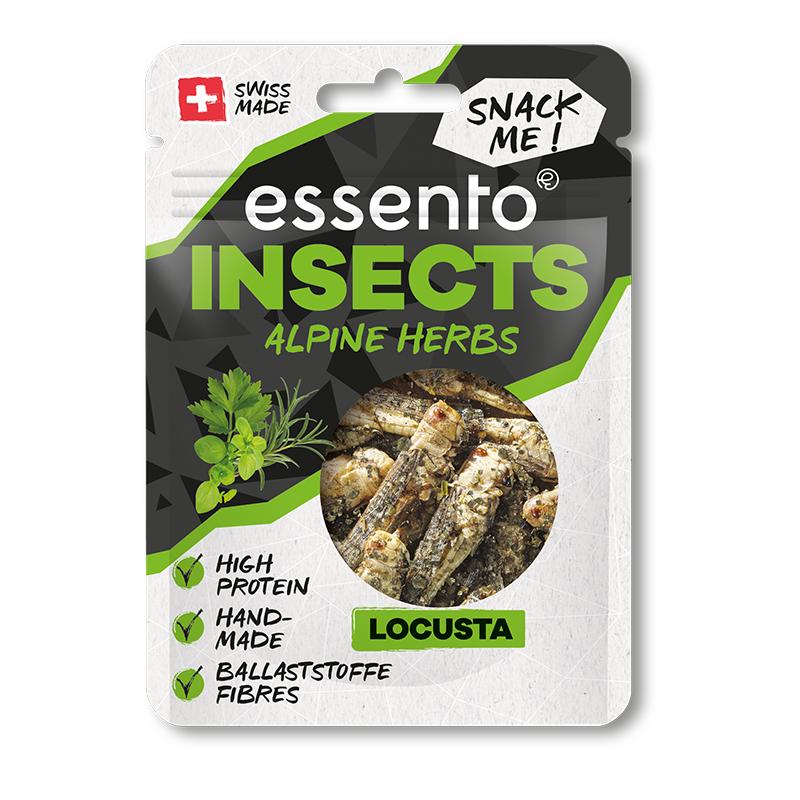 Insekten Snacks Alpine Herbs