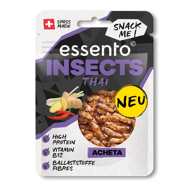 Insekten Snacks Thai